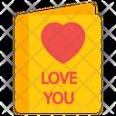 Love Card Invitation Card Valentine Card Icon