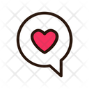 Valentine Chat Chat Love Chat Icon