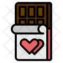 Chocolate Bar Love Icon