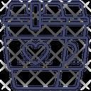 Valentine Coffee Icon