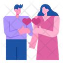 Exchange Couple Heart Icon