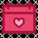 Valentine date Icon
