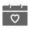 Love Wedding Date Icon