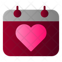 Calendar Wedding Honeymoon Icon