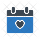 Calendar Valentine Day Icon