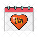 Valentine Day Love Icon