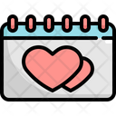 Calendar Wedding Marriage Icon