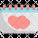 Calendar Wedding Marriage Icon