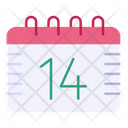 Calendar Date And Time Schedule Icon