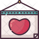 Calendar Love Romantic Date Icon