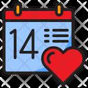 Valentine Day Valentine Date Icon
