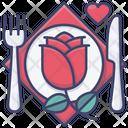 Valentine Dinner Icon