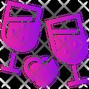 Valentine Drinks Icon