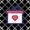 Valentine Gift Gift Surprize Icon