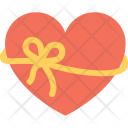 Heart Gift Wrapped Icon