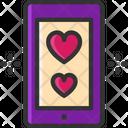 M Smartphone Valentine Gift Wedding Gift Icon
