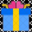 Valentine Gift Gift Box Icon