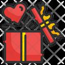 Valentine Gift Gift Box Present Icon
