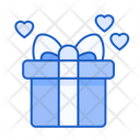 Valentine Gift Present Love Icon