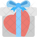 Valentine Gift Giftbox Icon
