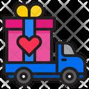 Valentine Gift Delivery Gift Delivery Delivery Icon