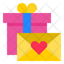 Valentine Gifts And Card Icon