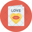Valentine Greeting Wishes Icon