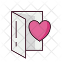 Valentine invitation Icon