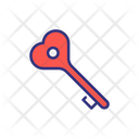Valentine Key Icon