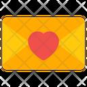 Love Letter Love Message Valentine Letter Icon