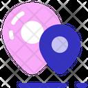 Valentine Location Location Pin Icon