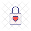 Valentine Lock Icon