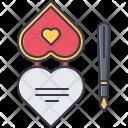 Valentine makeup Icon