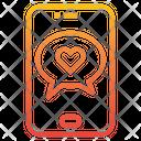 Valentine Message Icon