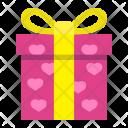 Present Gift Heart Icon