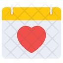 Valentine Reminder Valentine Calendar Love Calendar Icon