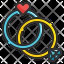 Valentine Ring Wedding Ring Ring Icon