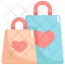 Valentine Shopping Icon