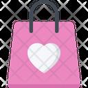 Valentine Shopping Wedding Shopping Shopping Bag Icon