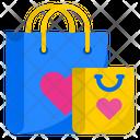 Valentine Shopping Shopping Bag Shopping Icon