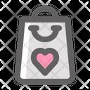 Valentine Shopping Icon