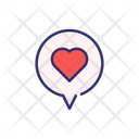 Valentine Talk Icon
