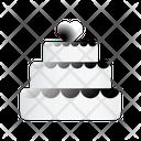 Valentines Cake Icon
