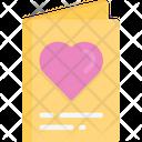 Valentines card Icon