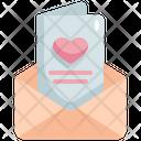 Greeting Love Valentines Icon