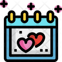 Valentines Day Spacial Day Day Icon