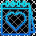 Valentines Day Valentine Day Calendar Icon