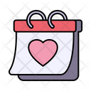 Valentines Day Love Date Icon