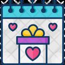 Valentines Day Day Festival Icon