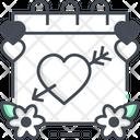 Valentine Day Love Heart Icon